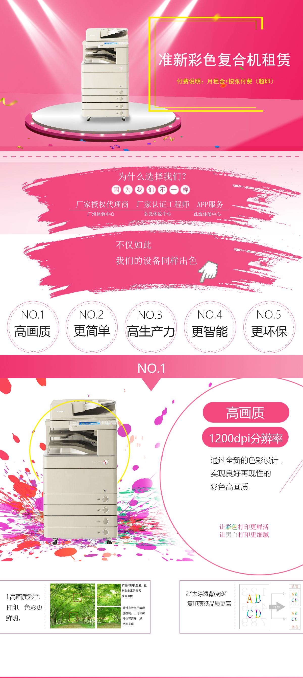(准新机)IR-ADV C5250 佳能复合机A3A4彩色激光网络打印扫描一体机(打印/复印/网络扫描)(图1)